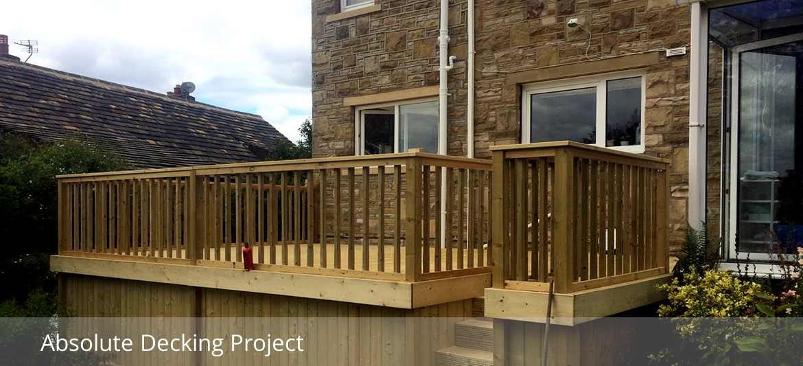 Absolute Decking Company Project.